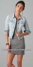 Ladies Slim Fitted Denim Jacket