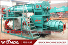 2014 China JZK clay industrial bricks machine with small scale production capacity