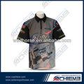 sublimación de tinta de impresión de motocross de prendas de vestir