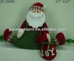 Candy bag indoor Santa