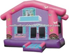 Good PVC moon bouncers inflatable