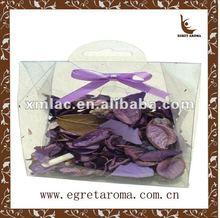 scented purple potpourri in bulk for decoration