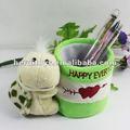 peluche 9cm contenitore penna cartone animato tartaruga cantaioner penna