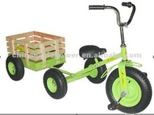GREAR GIFT ALL TERRAIN TRICYCLE WITH WAGON
