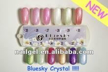 BLUESKY high quality new 36 crystal color nail gel polish