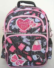 2012 hot sale cute school backpack
