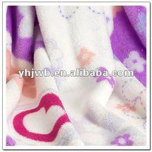 100% polyester blanket fabric of mirco polar fleece for home textile