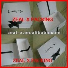 white square cardboard box for gift