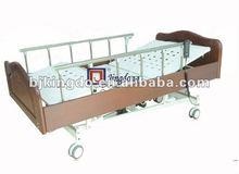 À usage domestique en bois médicale à cinq fonctions lit