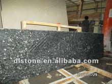 Low price dark blue pearls granite