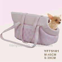 Luxury pet carrier/dog bag