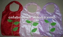 polyester foldable eco bags, fold up polyester bag, polyester shopping bag