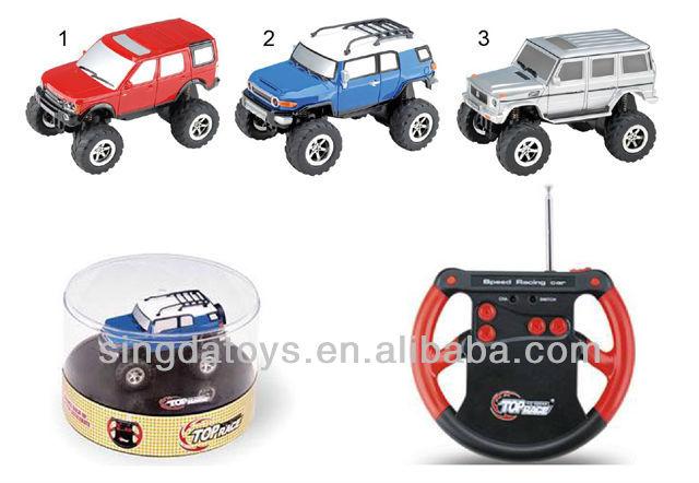 1:24 5 Channel mini wireless remote control car ( Mix 3 colors )