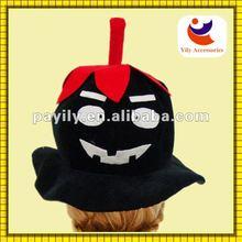 new design funny halloween pumpkin 2012 hot sale halloween hat