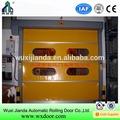Alta qualidade do tecido industrial& pvc roll-up da porta rápida/ portão