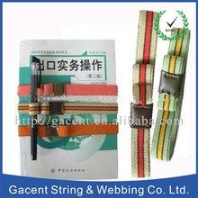 Elastic book straps