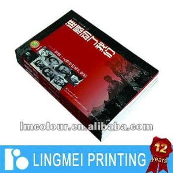 Printing Catalogue With Proffessional Printer (Guangzhou)