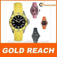 hot sale popular silicone quartz watch