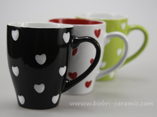 Handcrafted Handmade Hand Made Espresso Ceramic Porcelain Coffee Tea Cups Mugs