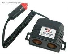 2012 High quality 1-2 way car cigarette socket
