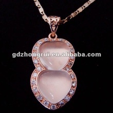Wholesale natural AAAA grade star-light rose quartz heart pendant necklace (size 35*17*8mm)--free chain