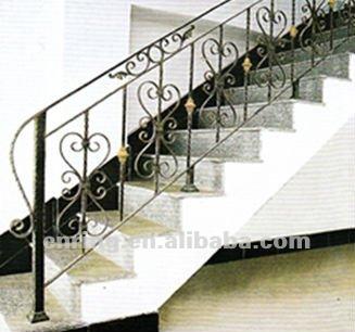 Worught hierro de carril de la escalera pasamanos - Imagenes de pasamanos para escaleras ...