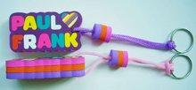 Promotion gift colorful digital printing EVA foam keychain