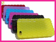 Customised silicone pillow waterproof case for iphone 4g