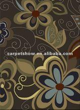 Flower hand made rug/Casino hotel carpet