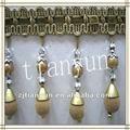 Mode perles intelligente pompon glands frange à vendre