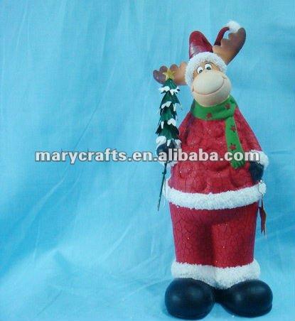 de cerámica figuras animadas de navidad