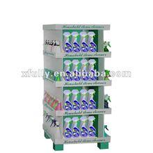 Exhibición de la cartulina para ariel detergente