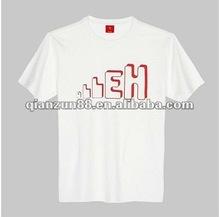 high quality fashion style men short sleere cotton O-Neck T shirt