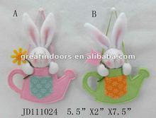 Handmade Rabbit Decor.