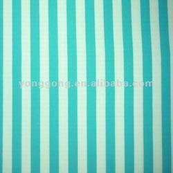 Printing spandex nylon blue and white stripe fabric