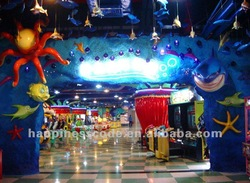 Amusement game, fiber glass attractions, park project
