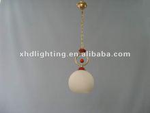 2012 simple new glass pendant lamp