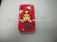 rilakkuma bear silicone cell phone case