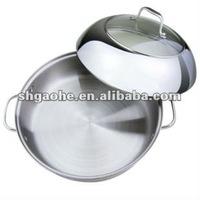 18cm Bakelite Handles stainless steel fryer/Frying pan/Frying pot