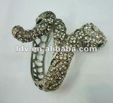 Fashion Style Snake Rhinestone Bangles