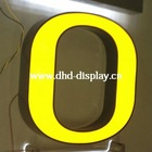 Yellow Frontlit Flat LED Window Signs