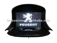 High Quality! Car auto radio for peugeot 206 dvd player with gps navi, in stock