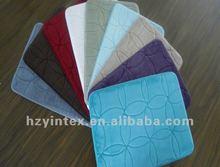 2012 Global Hote-selling and Fashion memory foam bath mat