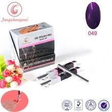 high gloss One Step Gel Nail Polish pen,color gel polish pen for nail