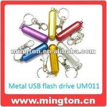 Metal bullet shape usb pen drive1GB