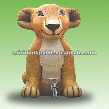 inflatable animal moscot Inflatable lion