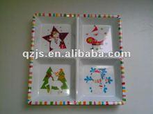 christmas melamine plate printing