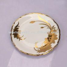 Europe style decorative pottery plates craft
