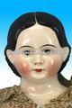 Delicated boneca de cerâmica cabeças
