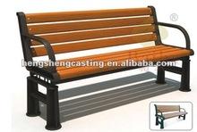 Public service waterproof cheap outdoor bench